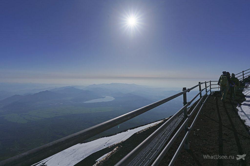 Встретить рассвет на Фудзи Япония