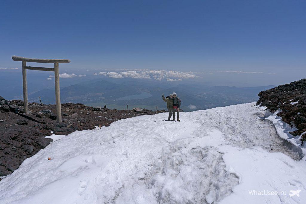 Как подняться на вершину Фудзи Япония