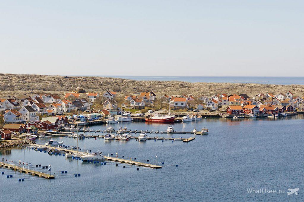 Западный архипелаг Швеции Bohuslän