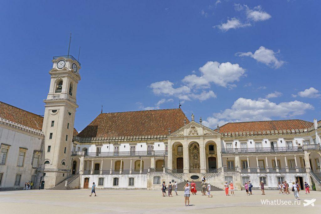 Что можно посмотреть в Коимбре в Португалии