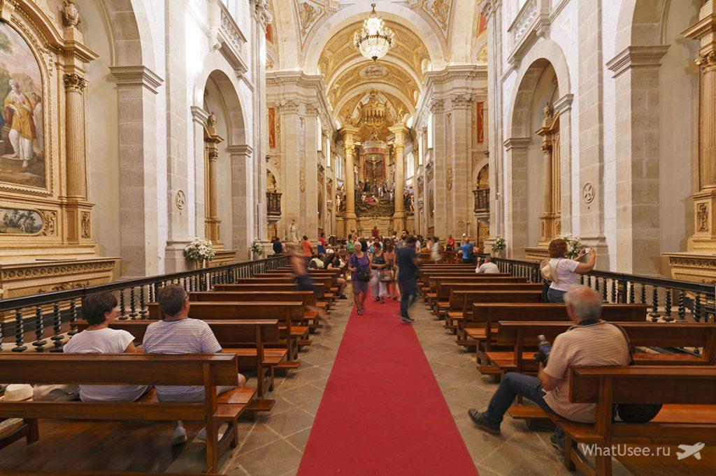 Поездка в Бон Жезуш ду Монте в Португалии