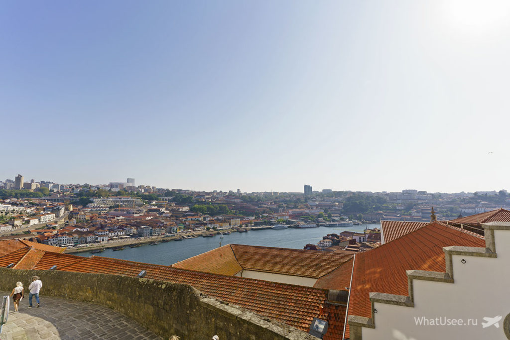 Смотровые плошадки в Порту