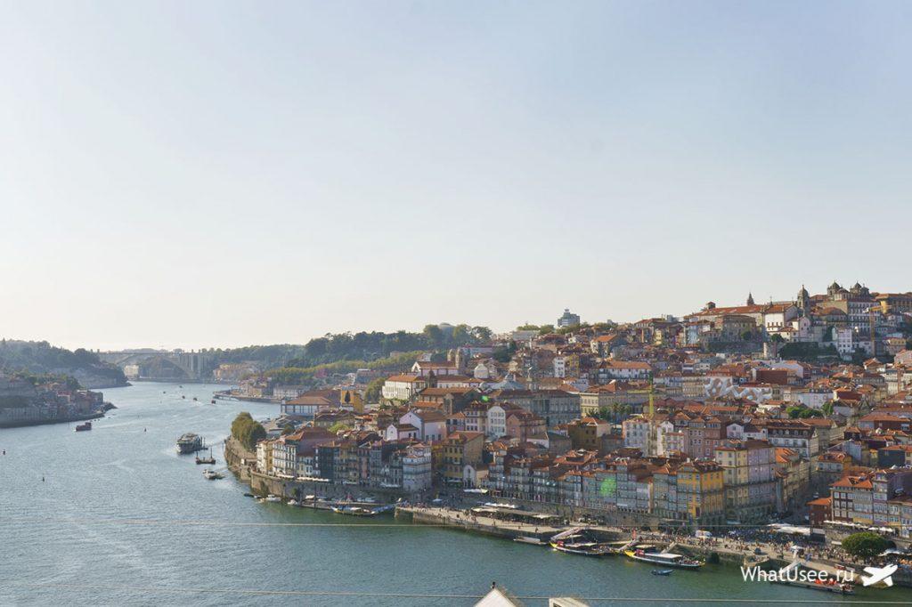 Закат в городе Порту