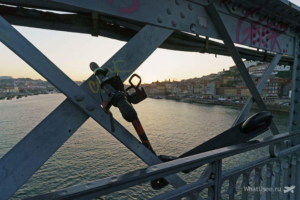 Скутеры в Порту