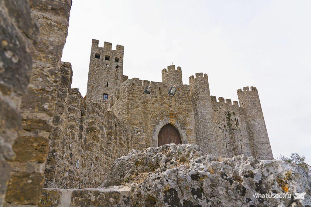 Городок Обидуш в Португалии