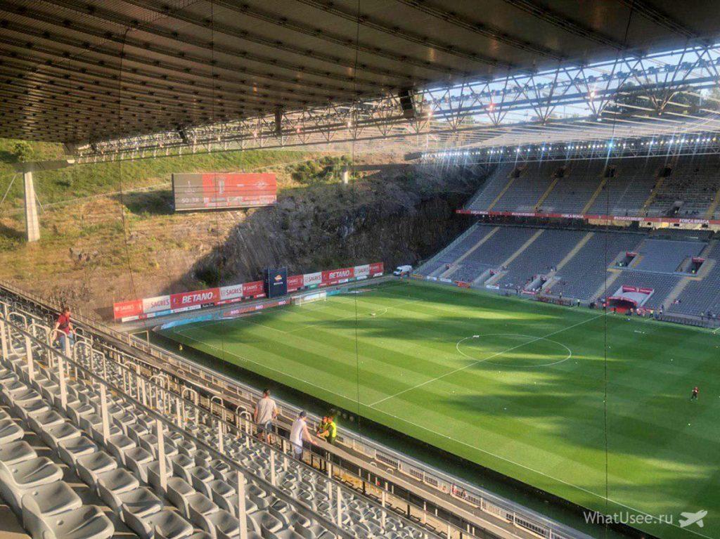 Футбольный стадион в Браге