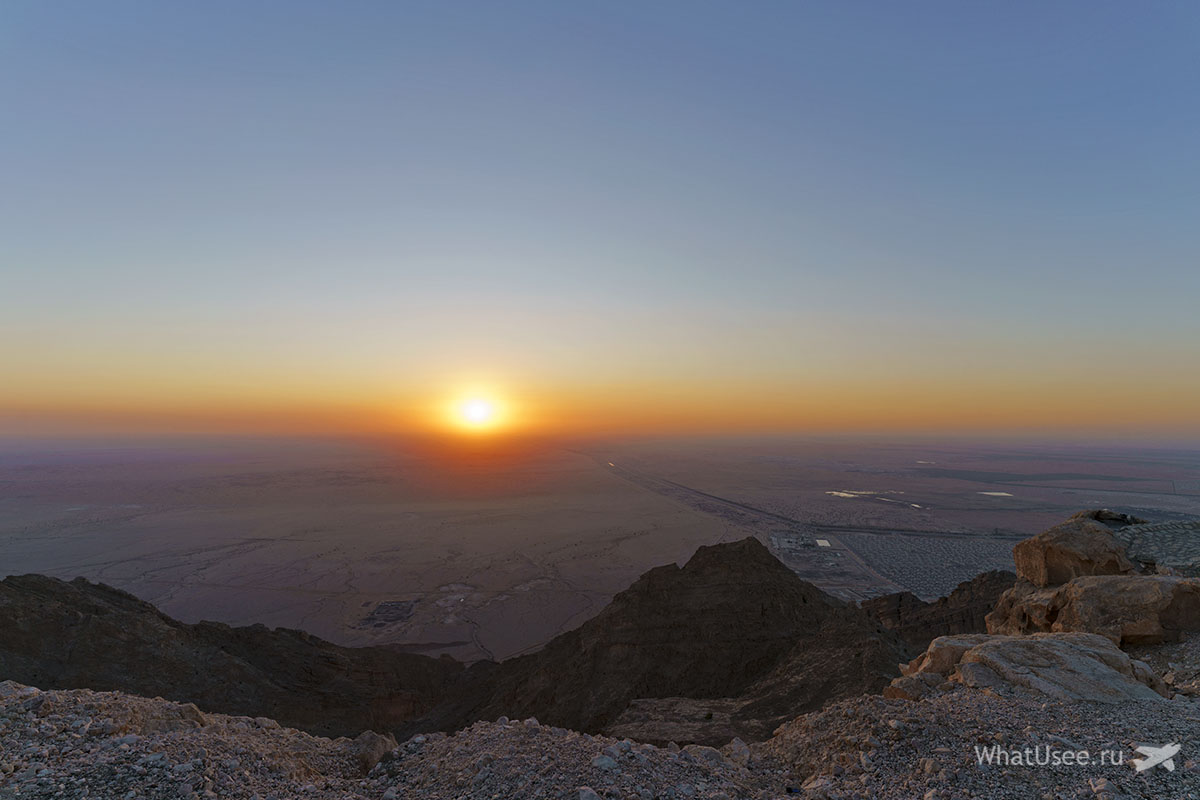 Гора Джебель Хафит