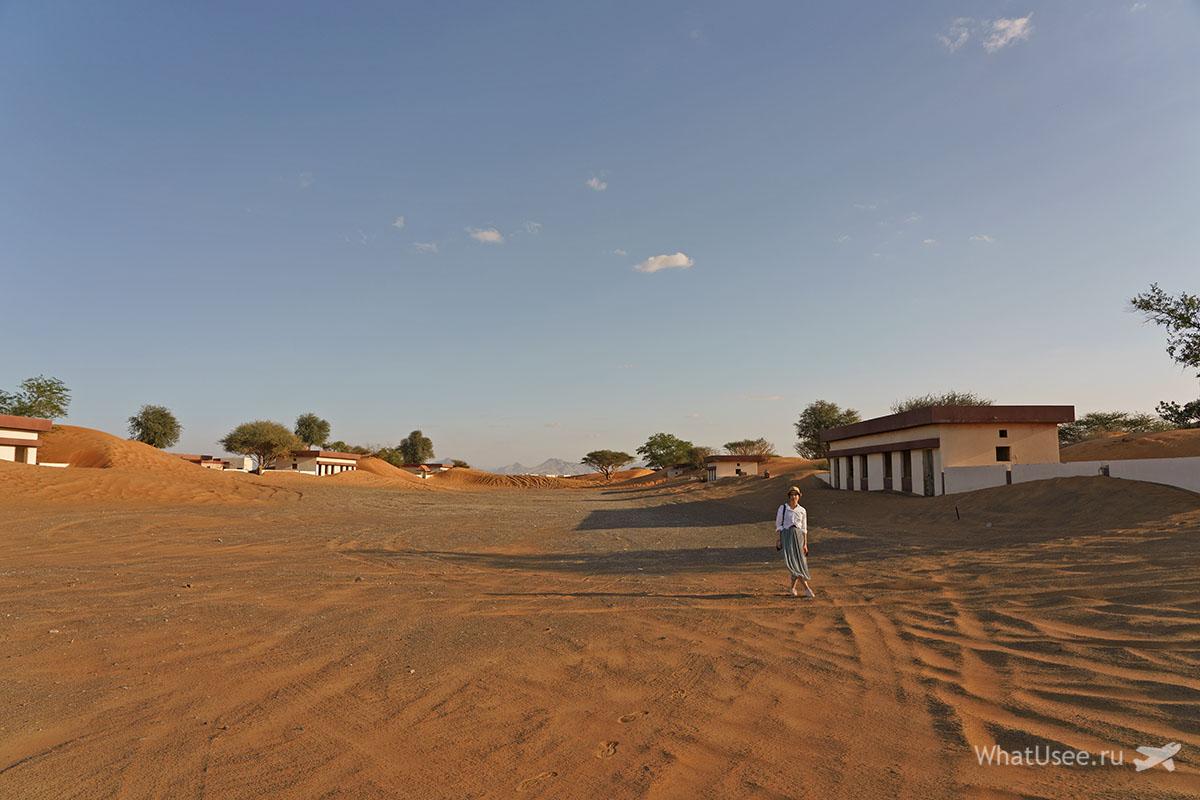 Заброшенная деревня Al Madam Эмираты