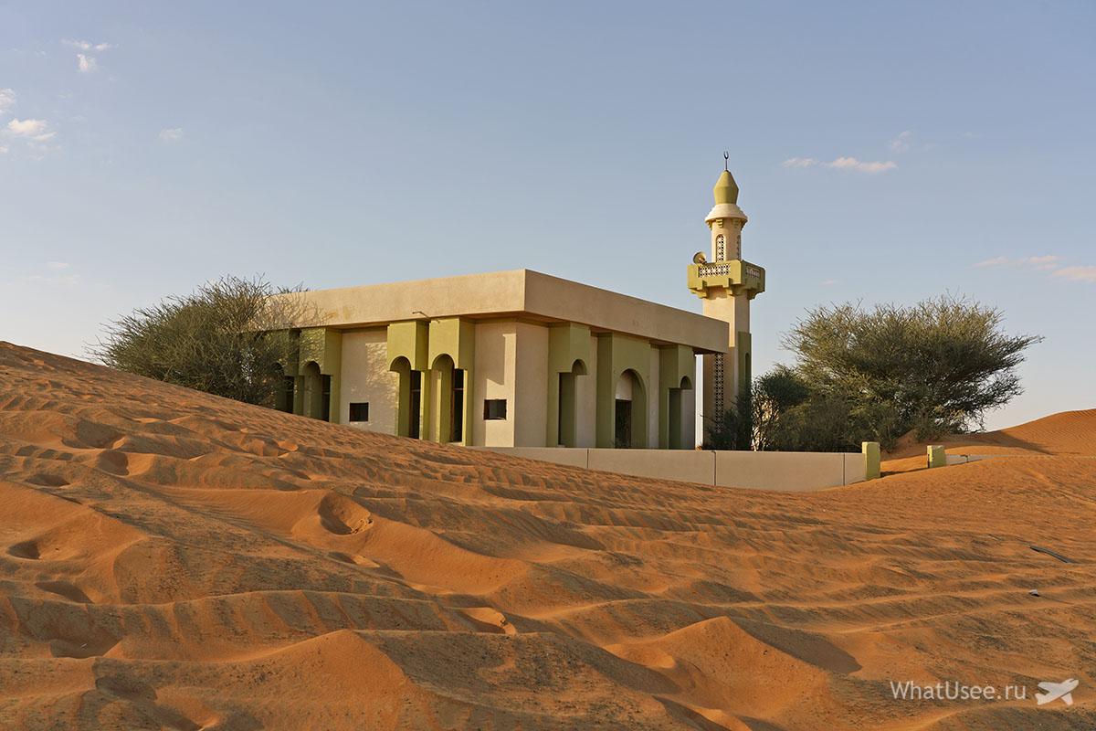Заброшенная деревня Аль Мадам в Эмиратах