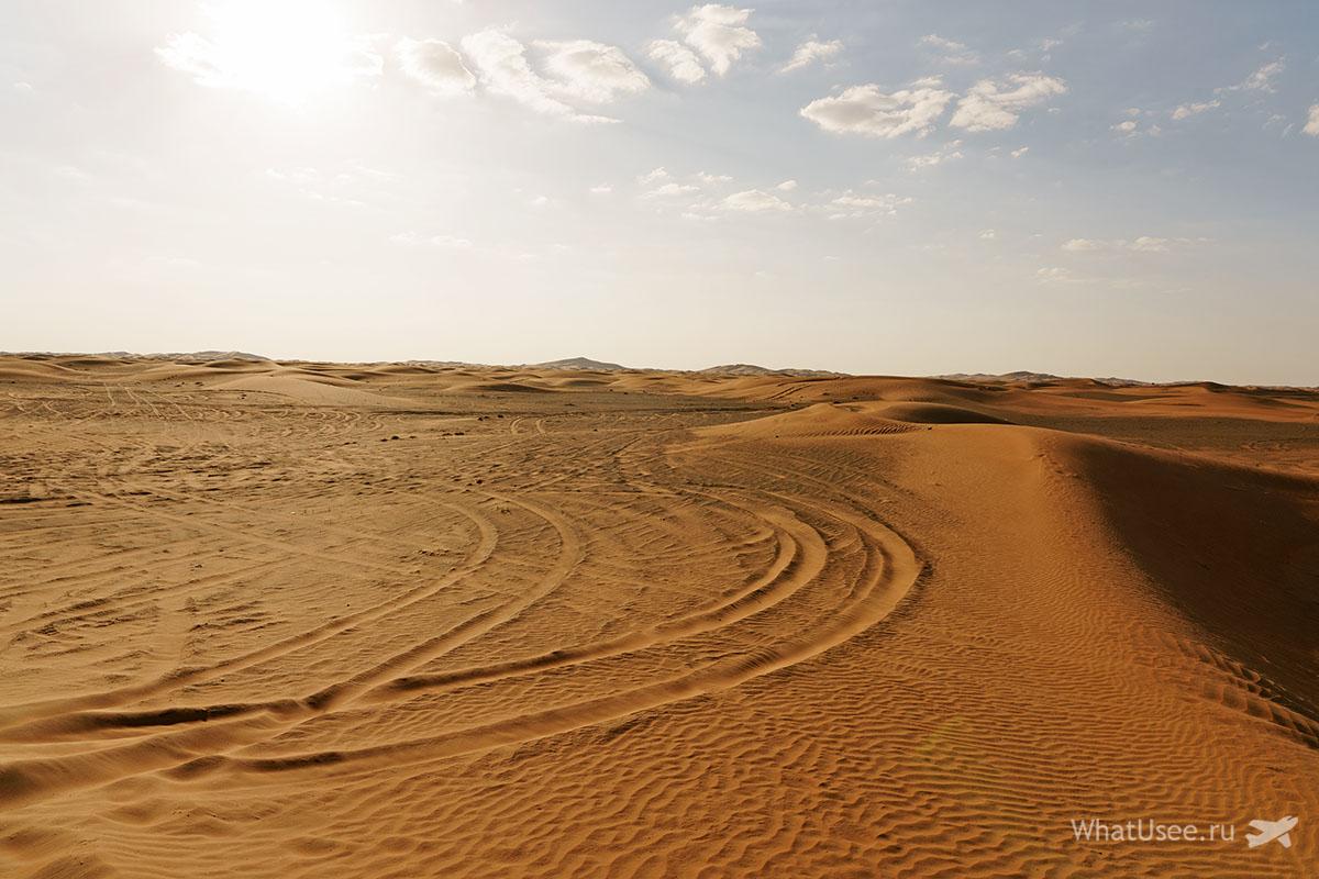 Заброшенная деревня Аль Мадам Эмираты