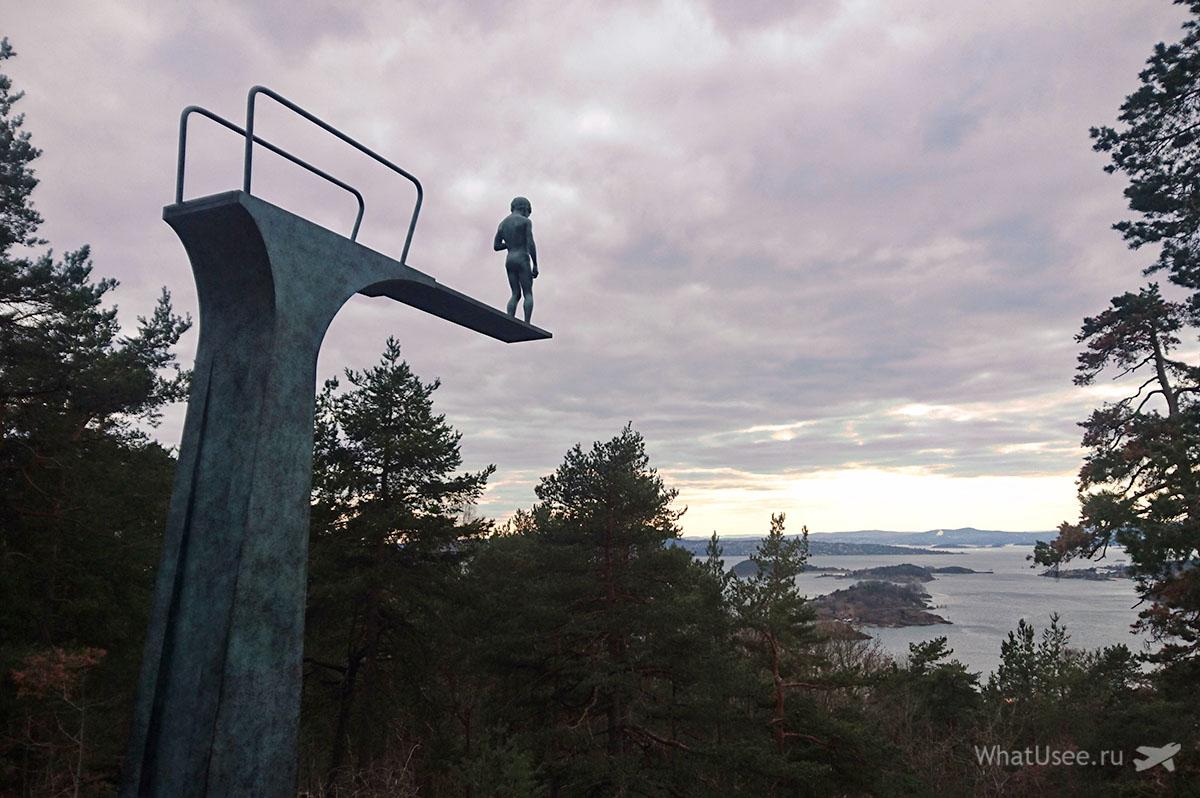 Достопримечательности Осло Норвегия