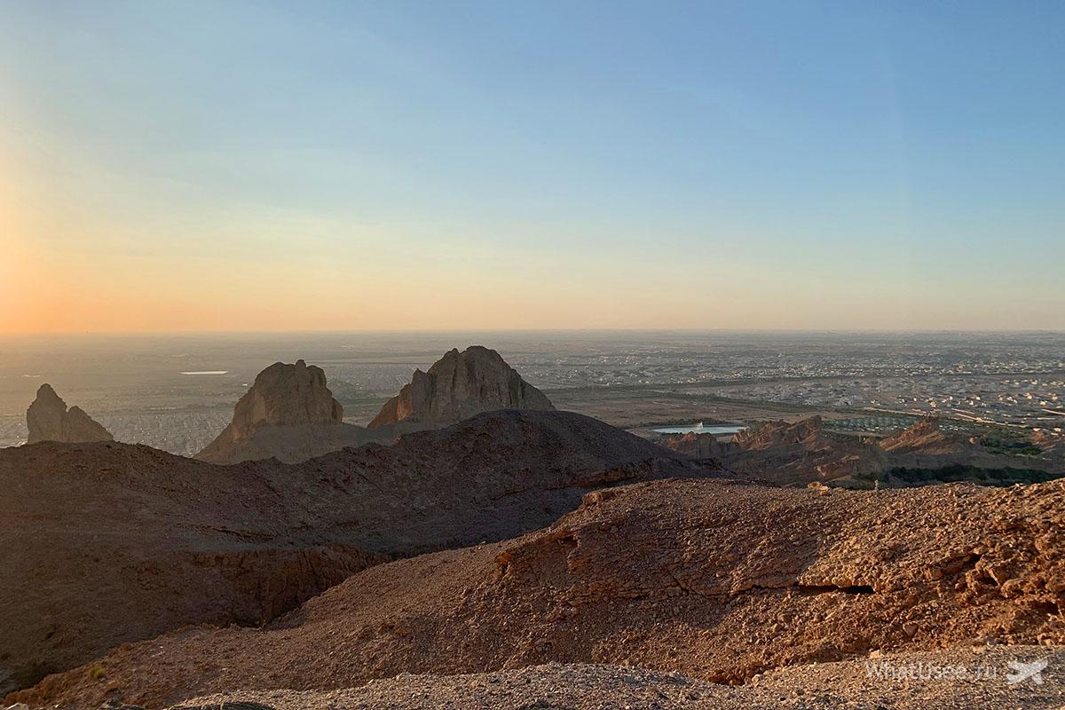 Гора Джебель Хафит в ОАЭ