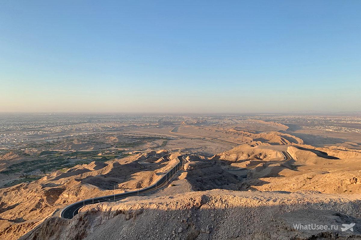 Гора Джебель Хафит ОАЭ