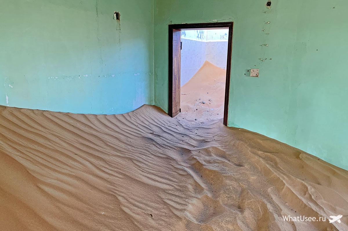 Заброшенная деревня Аль Мадам