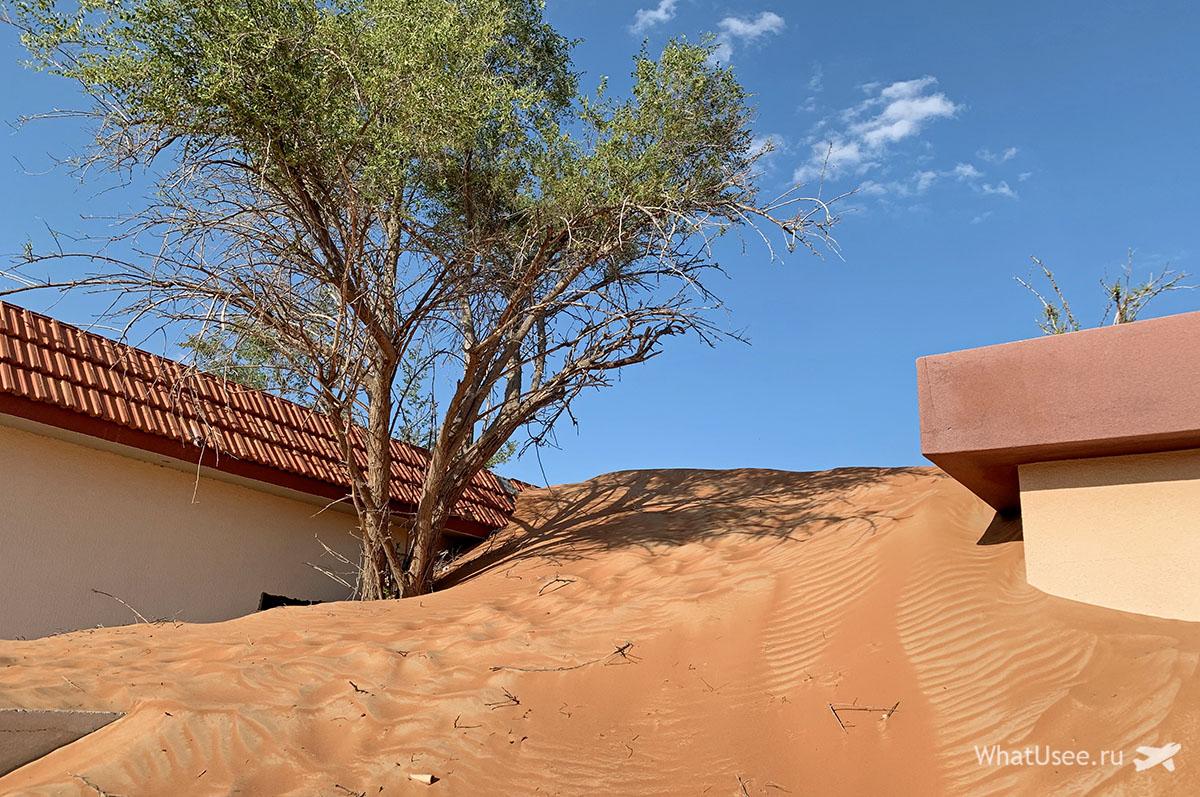 Заброшенная деревня Al Madam а Эмиратах