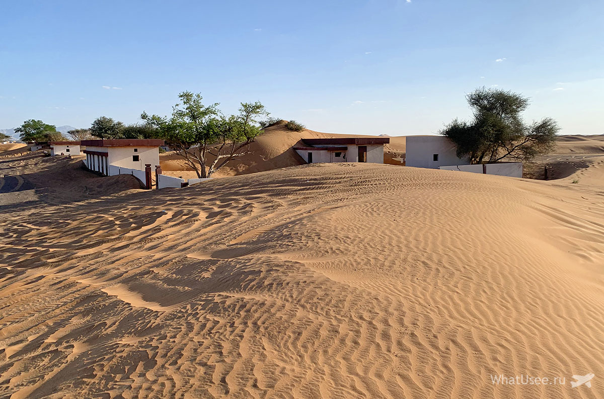 Заброшенная деревня Al Madam