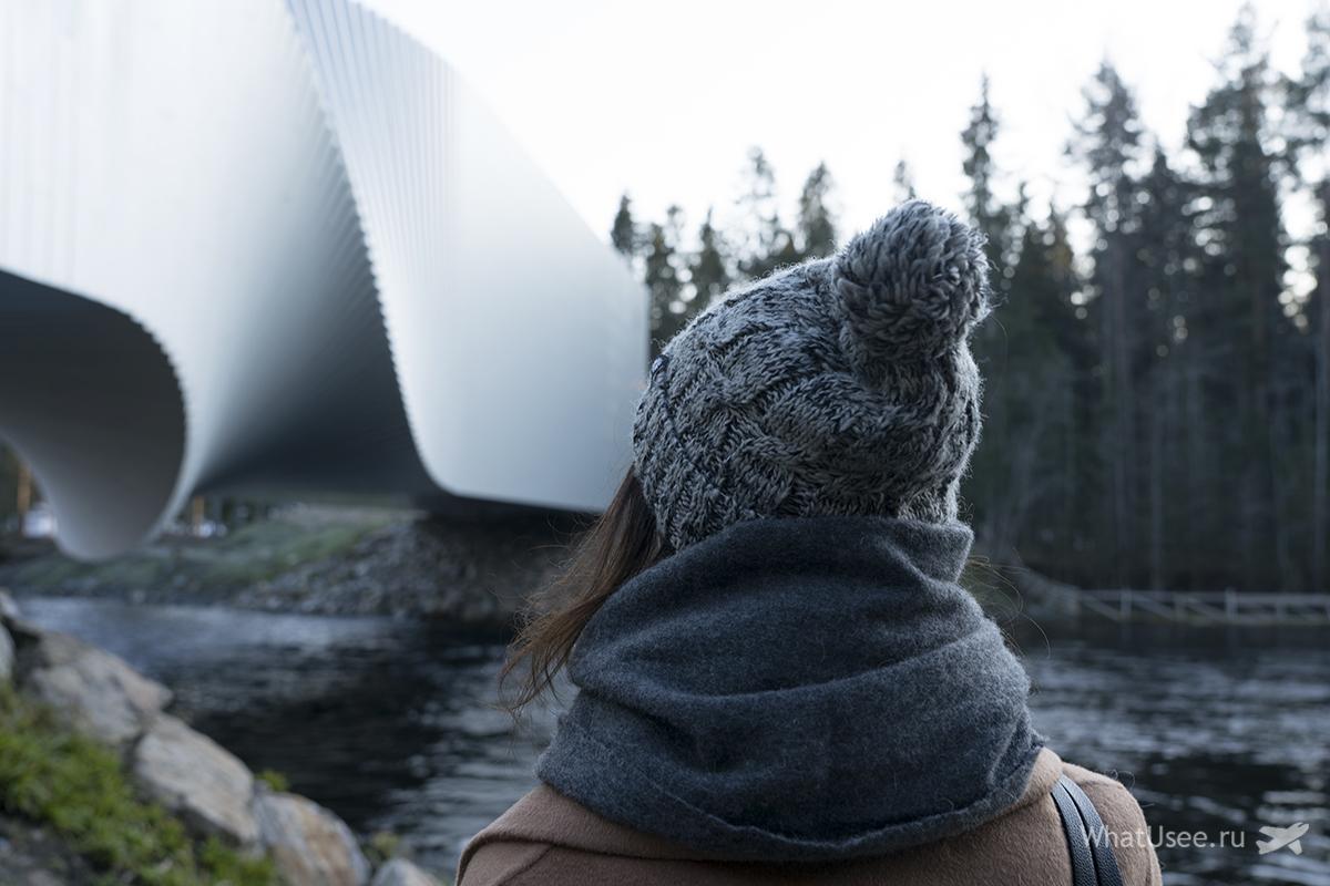 Поездка в галерею The Twist в Норвегии
